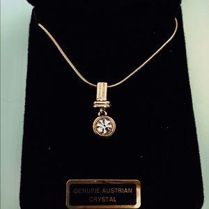 Jewelry - A genuine Austrian crystal necklace NIB